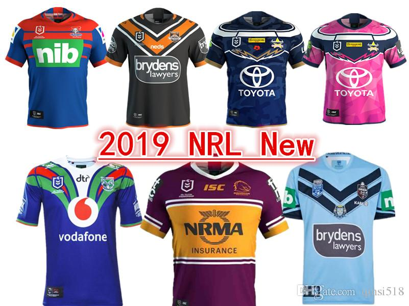 070a0101b1d 2019 NEWCASTLE KNIGHTS WESTS TIGERS NORTH QUEENSLAND COWBOYS ...