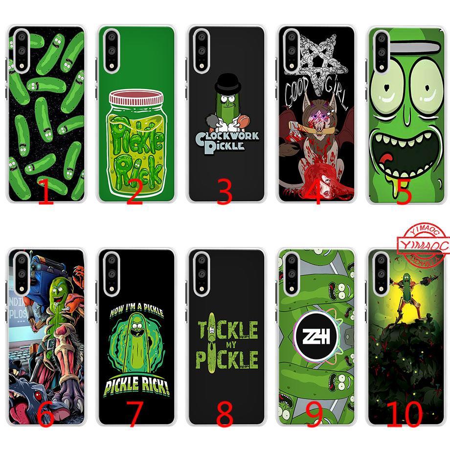 aff6c899d8d Forros Para Telefonos Mr Pickles Rick Soft Funda De Silicona Para Huawei  P10 P20 Lite P8 P9 Lite 2015 2016 2017 P Smart Cover Diseños Para Fundas De  Celular ...