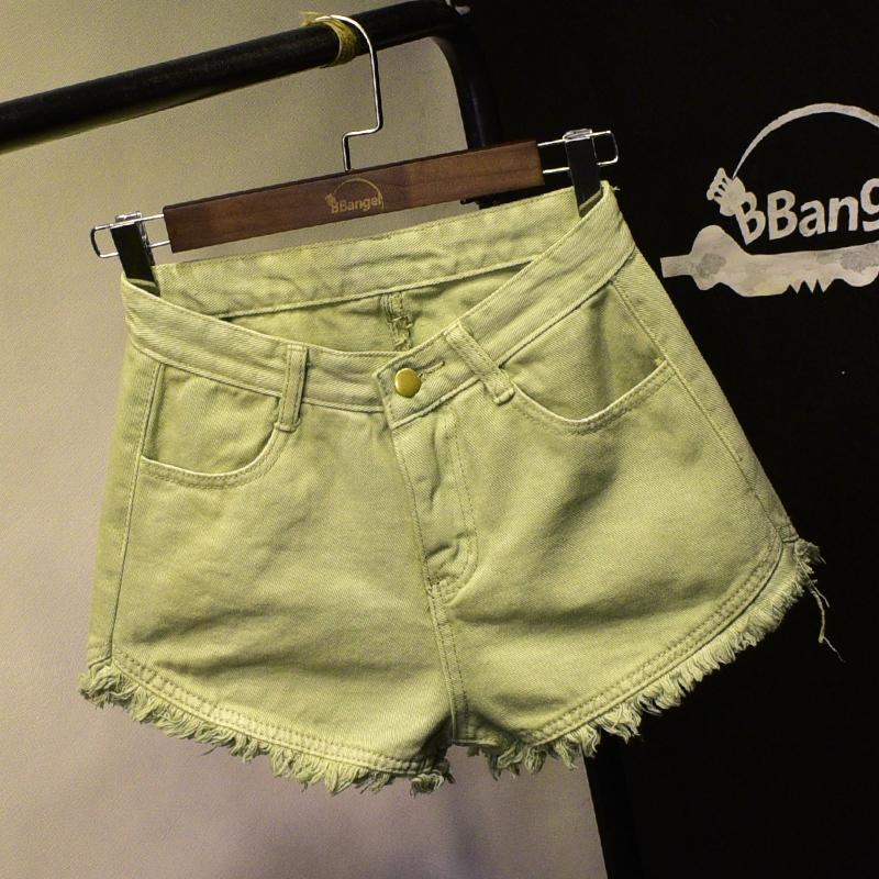 24a8cae49cf 2019 Sexy Jeans Shorts Women Summer Booty Shorts Mini Denim Short Feminino  Casual Jean Black Vintage Plus Size S XL D25 From Bevarly