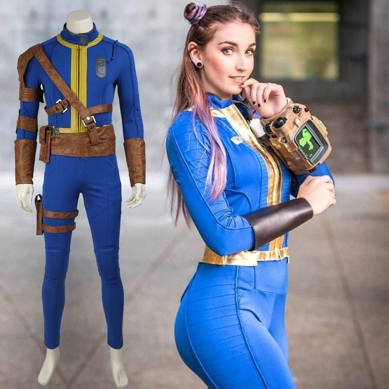 4 Person Halloween Costumes Girls.Ostume Jewelry Cuff Bracelets Fallout 4 Cosplay Pc Game Nate Costume Halloween Costumes For Men Adult Man Sole Survivor Popular Suit Jump