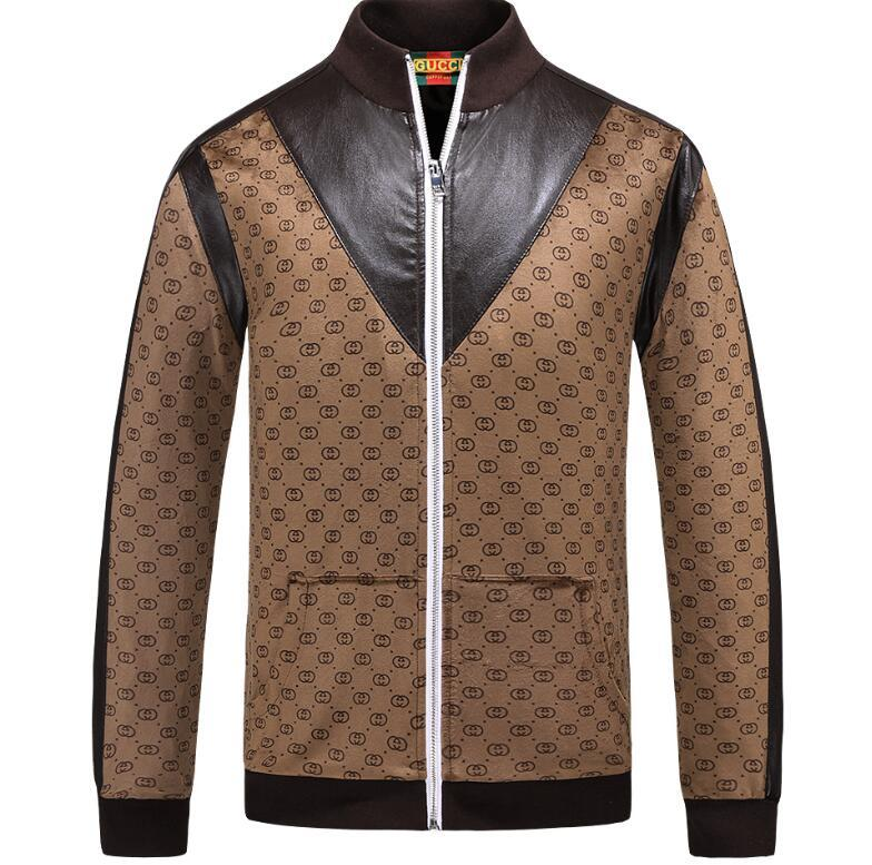 25fae7174b842 Luxury Designer Italy Brand Jacket Men Spring 2018 New Giacca Uomo ...