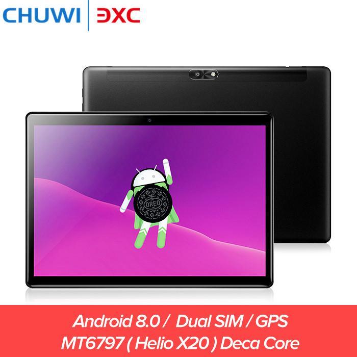 e15eaac9103 Acheter Chuwi Hi9 Air 4G Double SIM Tablet PC 10.1 Pouces Android 8.0 Helio  X20 Déca Core 4GB 64GB Bluetooth 4.2 Appel Téléphonique Jeu Tablettes De   221.1 ...