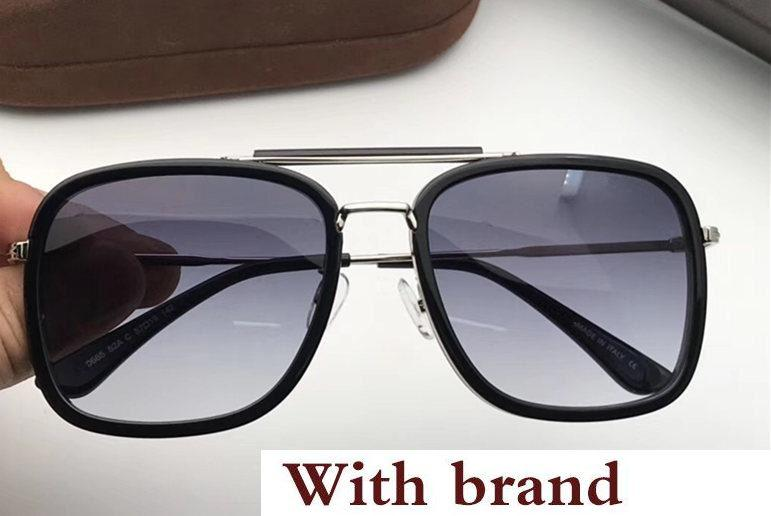 Luxury Sunglasses For Men Designer Fashion Square Frame UV Protection Lens Popular Summer Style Sunglasses Top Quality Come With Case