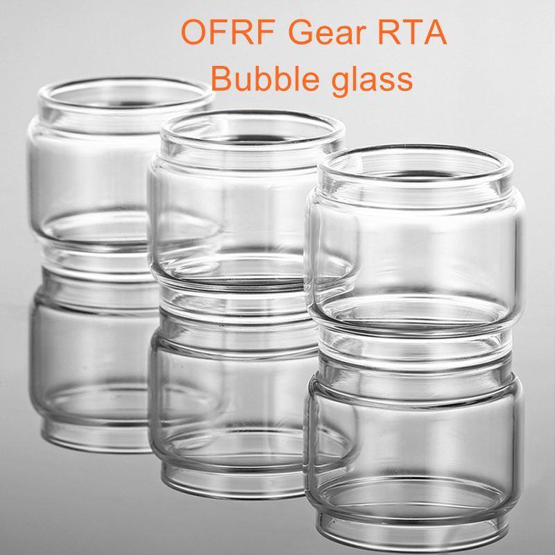 for OFRF Gear RTA DIY replacement bubble glass tube fat boy vape atomizer  glass vape accessory tank free shipping