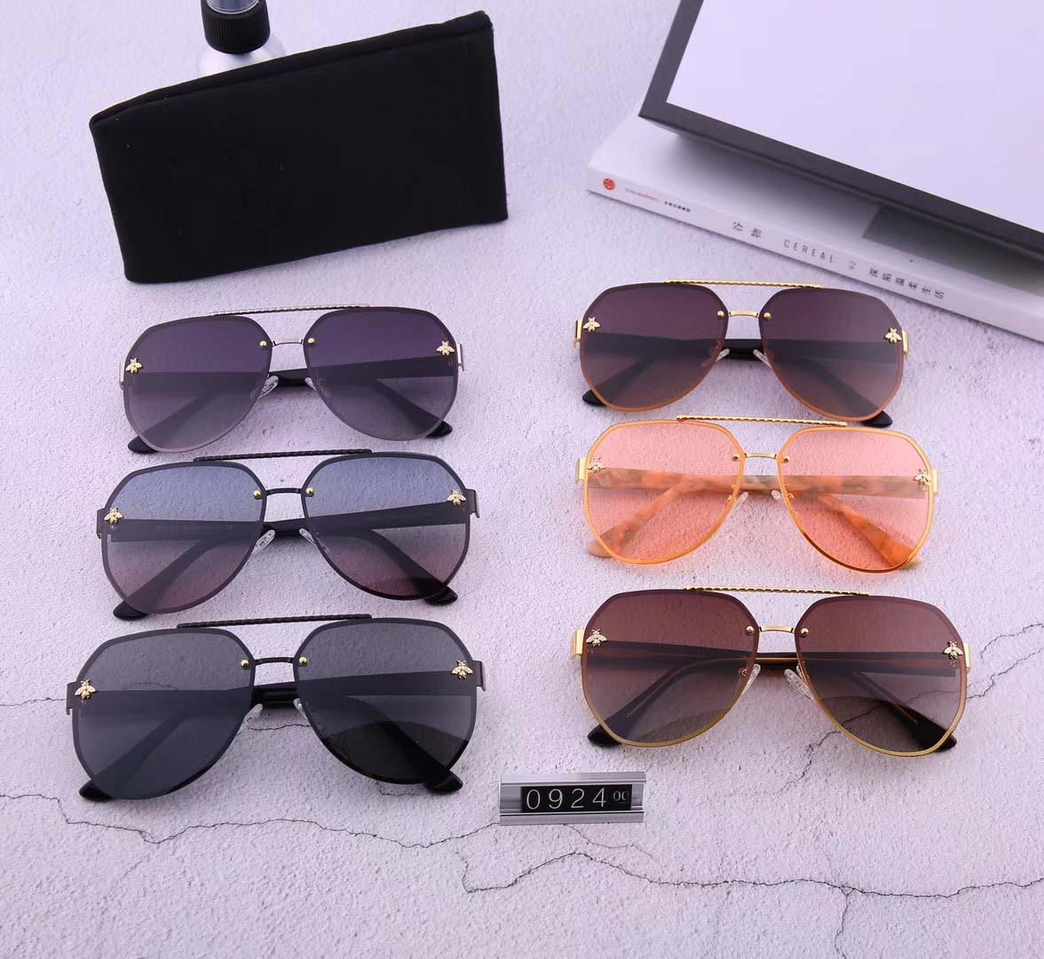 Frameless men's and women's universal sunglasses can be matched with couple's pure plate mirror leg 0924