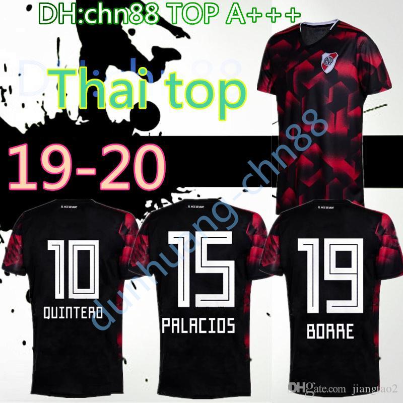 41abb199d Compre River Plate 2019 2020 Camisa De Futebol Terceiro Quintero 10 Pratto  27 Borre 19 Palacios 15 19 20 River Plate Camisas De Futebol Top Quality ...