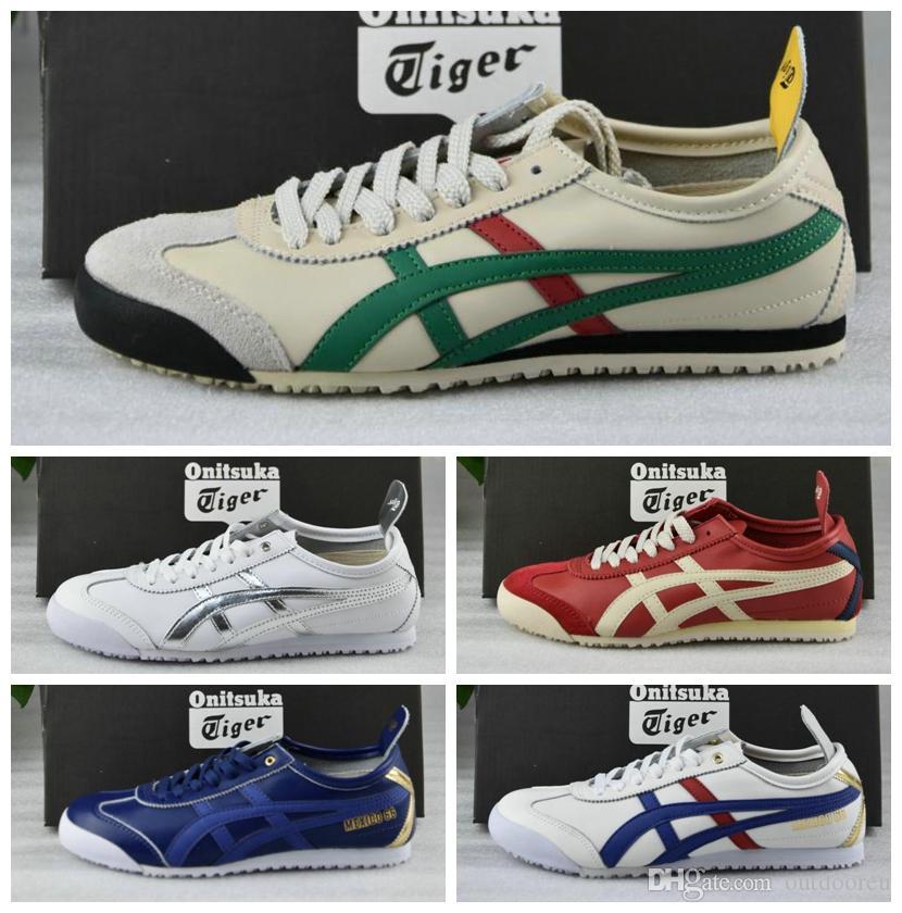 buy online 43272 bd825 2019 Onitsuka Tiger Men Women Running Shoes Original Athletic Outdoor Boots  Sport Sneakers Designer Shoes Eur 36-45