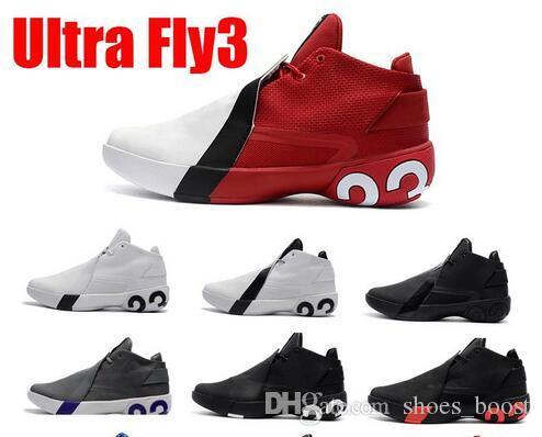on sale ca37f 9c8f7 Acquista 2019 Jimmy Butler III Jumpman Ultra Fly 3 Griffin Butler Scarpe Da  Basket Uomo Triple Nero Bianco Blu Scarpe Da Ginnastica Firmate 3s Us Size7  12 A ...