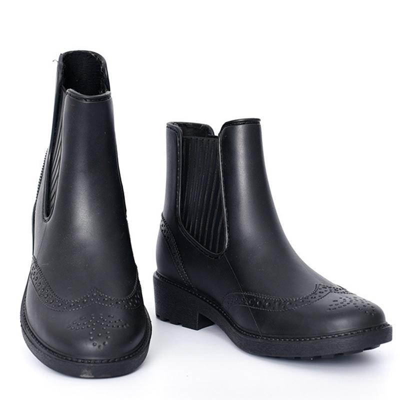 79ab19ba5474 Autumn Rain Boots Women Antiskid Rainy Shoes Woman Waterproof Rainboots  Spring Ankle Boots For Women Casual Shoes Bota Feminina Boys Boots Fashion  Shoes ...