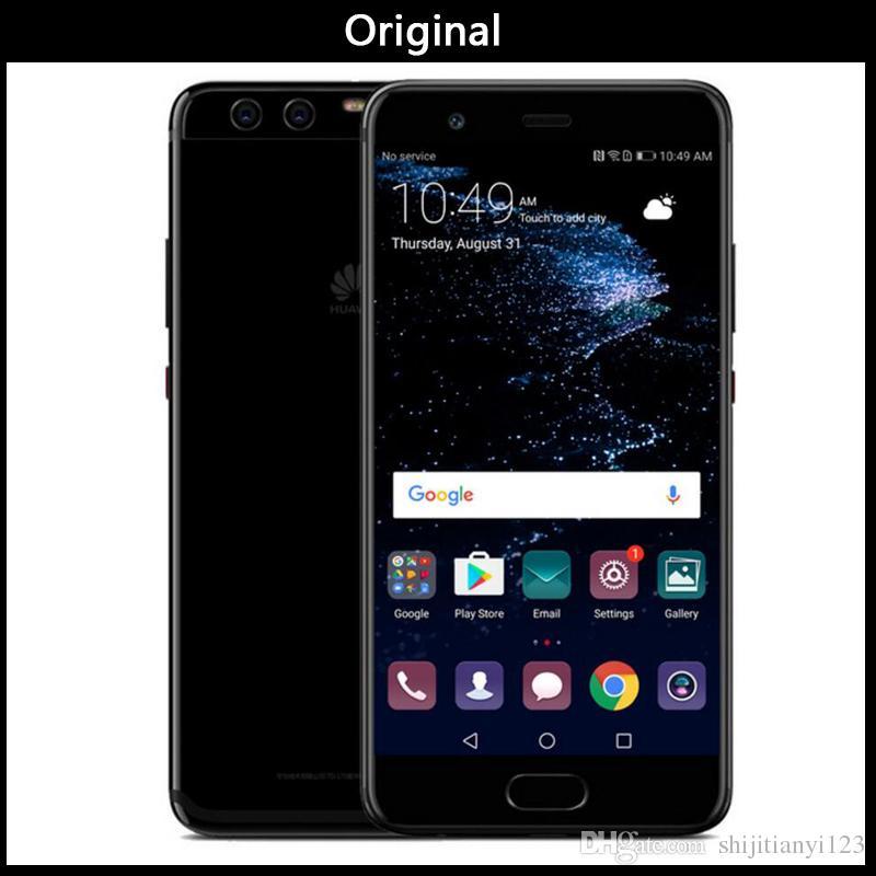DHL Free New Original Huawei P10 Plus VKY-AL00 4G LTE Mobile Phone Kirin  960 Octa Core 6GB RAM 64GB/128GB ROM Android 5 5 2K 2560x1440 20MP