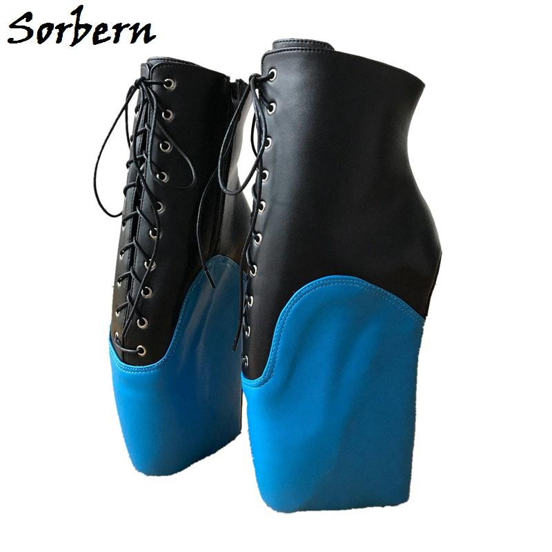 Großhandel Sorbern Sexy Mid Kalb Stiefel Frauen Frauen Frauen Ballett Keilabsatz ... d842d6
