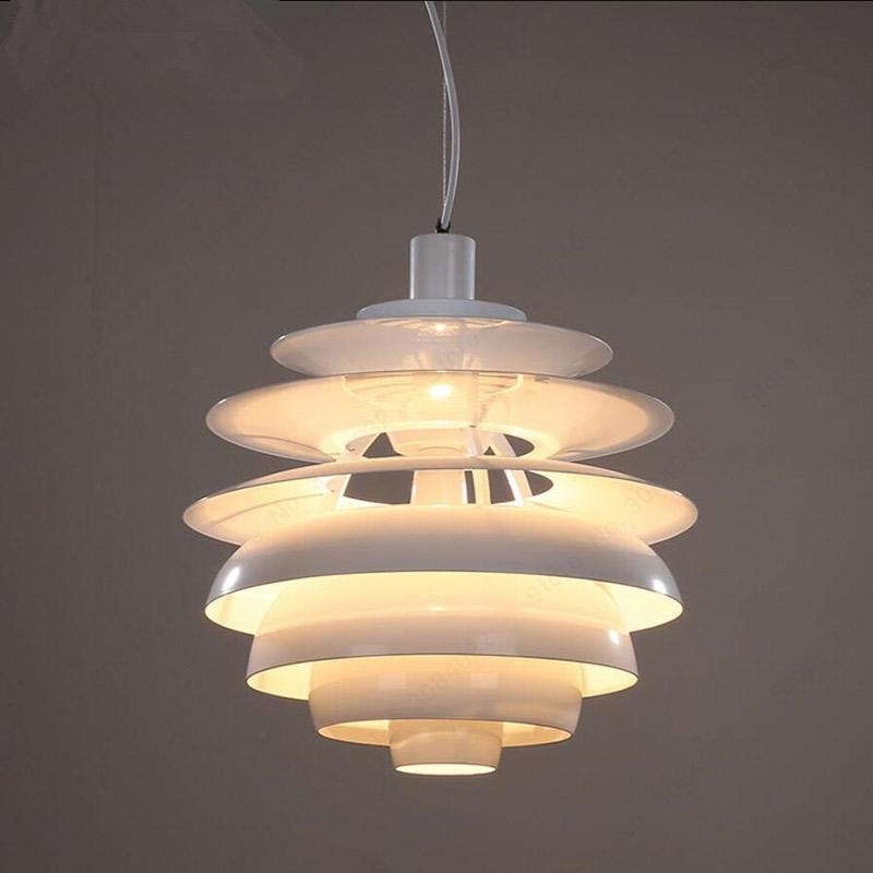 Snowball Pendant Lights Northern Europe Originality Pendant Lamp AC 90-240V E27 Bedroom Coffee Restaurant LED Hanglamp