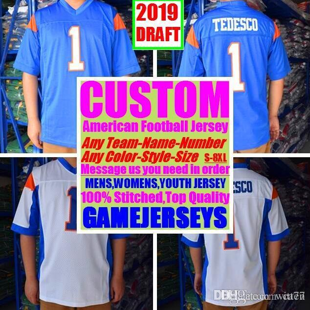 All Stitched Custom american football jerseys Arizona Atlanta college authentic cheap baseball basketball mens womens youth USA 4xl baby