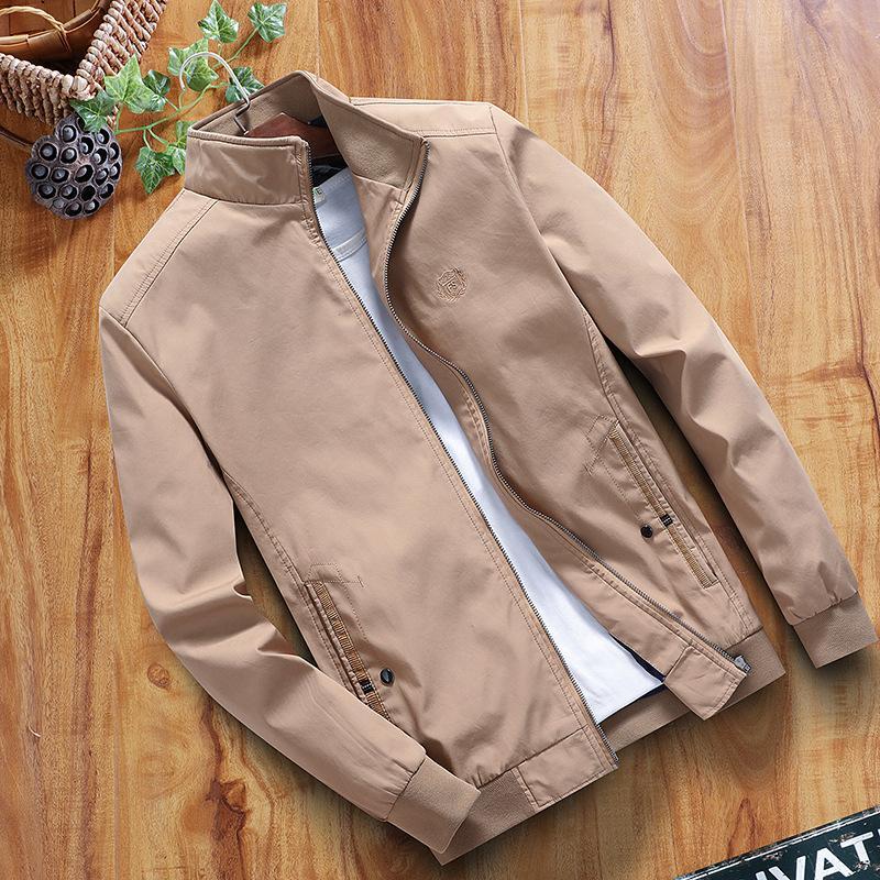 043266a0b Jacket Men 2019 Spring Casual Bomber Jacket Men Windbreaker Fashion Cotton  Warm Male Coat Outwear Coat Winter Fleece