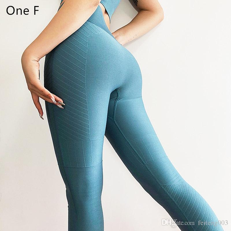 5f2bdea5700da 2019 Jacquard Seamless Leggings High Waisted Tummy Control Workout Leggins  Sport Fitness Slim Compression Tights Yoga Pants For Women #756854 From ...