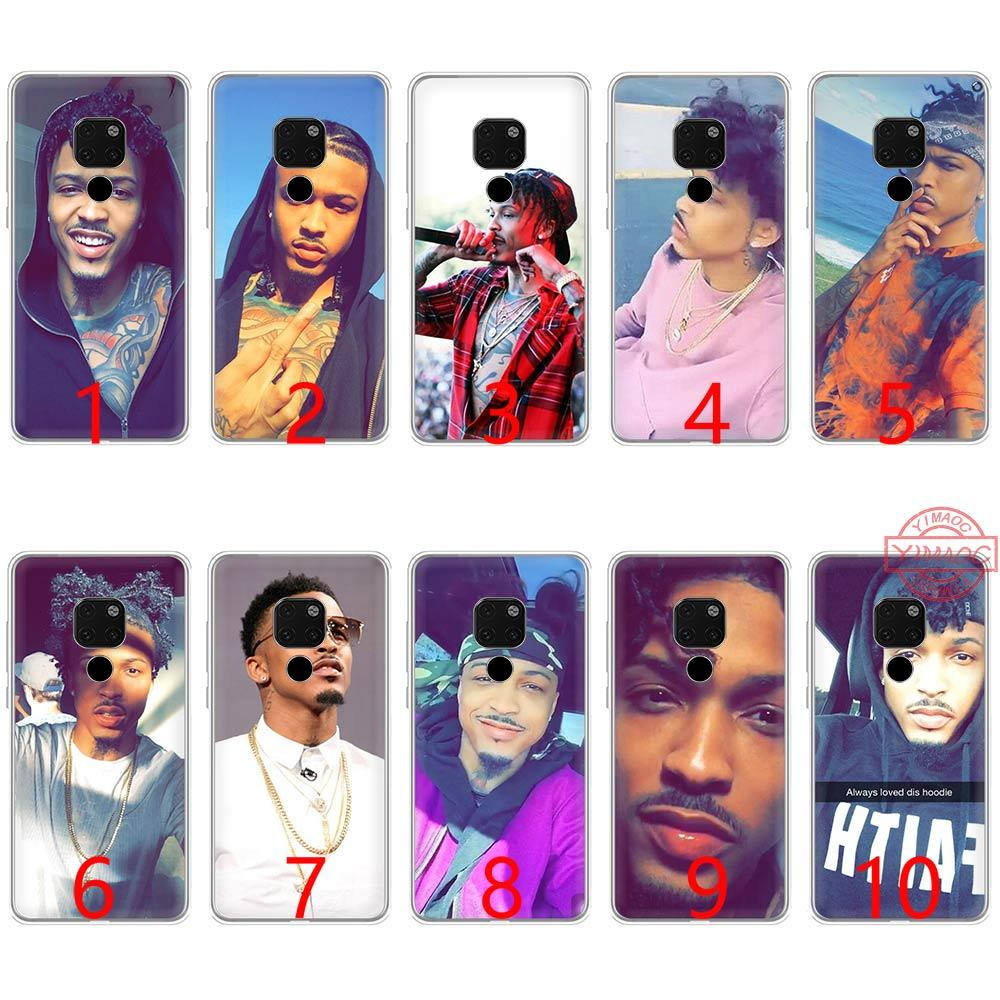 August Alsina Soft Silicone TPU Phone Case for Huawei Mate 20 10 Pro Nova 2i 3 3i 4 Lite