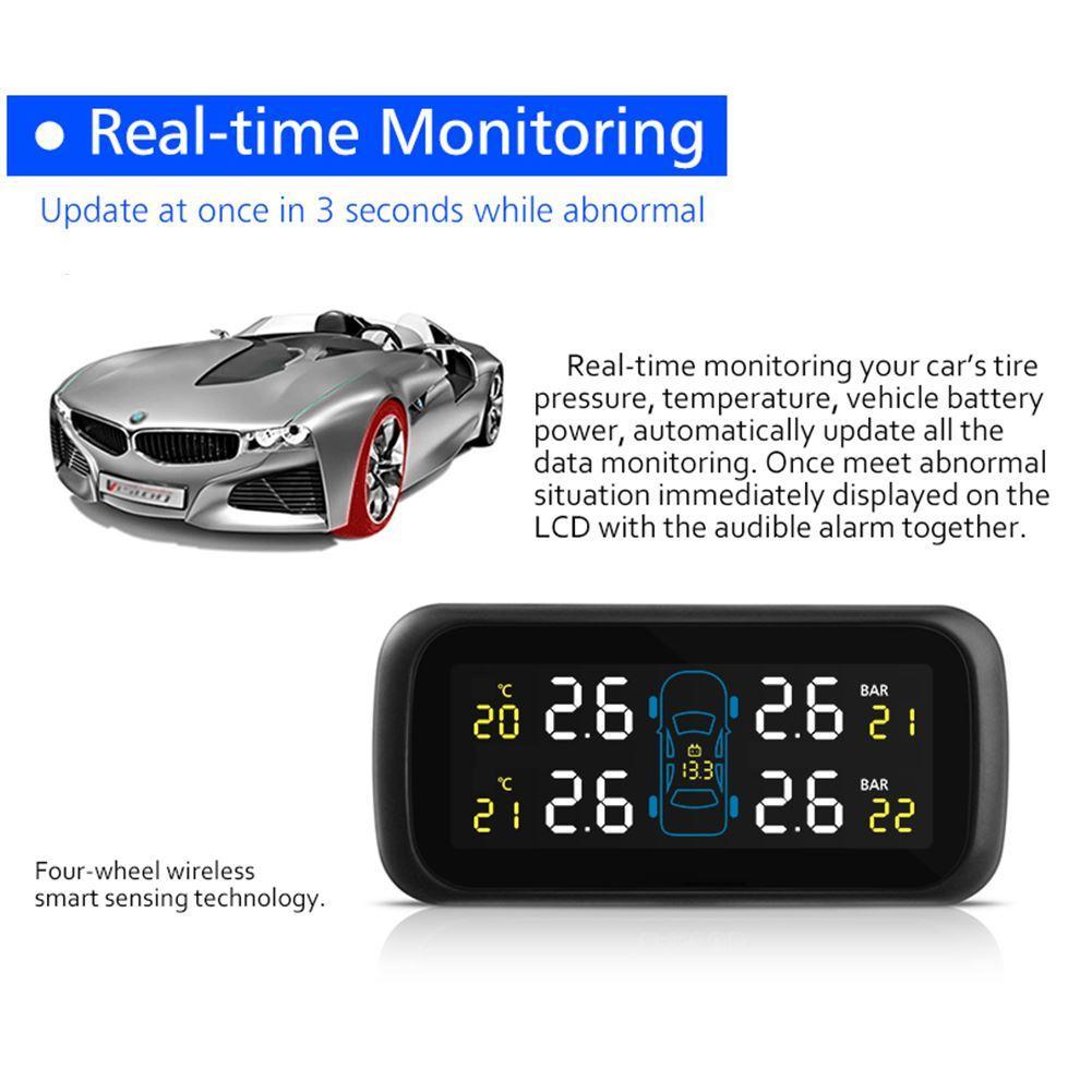 Smart Car TPMS Presión de llantas Encendedor de cigarrillos Monitores de presión de llantas de automóviles para MAZDA BX-5 / GX-7 / GX-9/3/56 / CX-5 / RX-8 Alarma de llantas