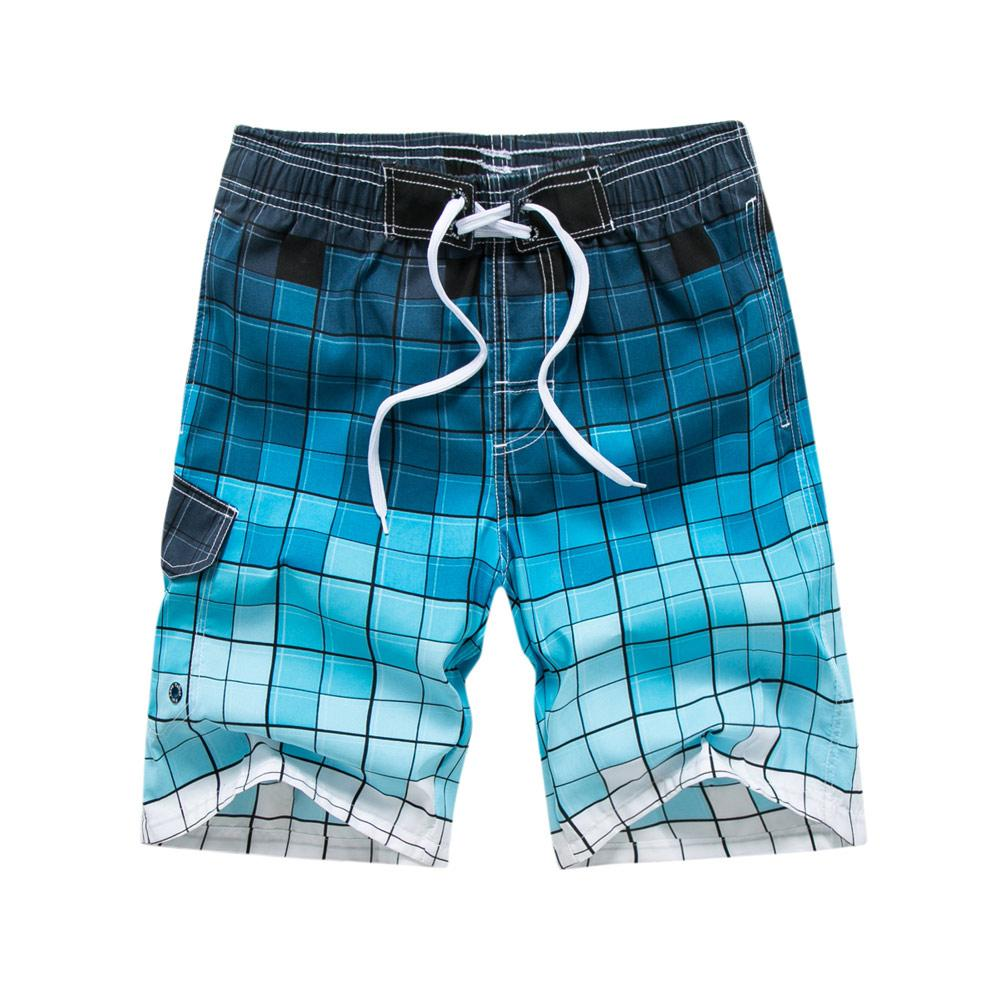 05e47eee540a1 2019 Beach Shorts Men Swimwear Liner Mesh Sweat Swimming Trunks Siwmsuits  Surfing Short Mens Bathing Suits Quick Dry Surf Bermuda From Wencull, ...