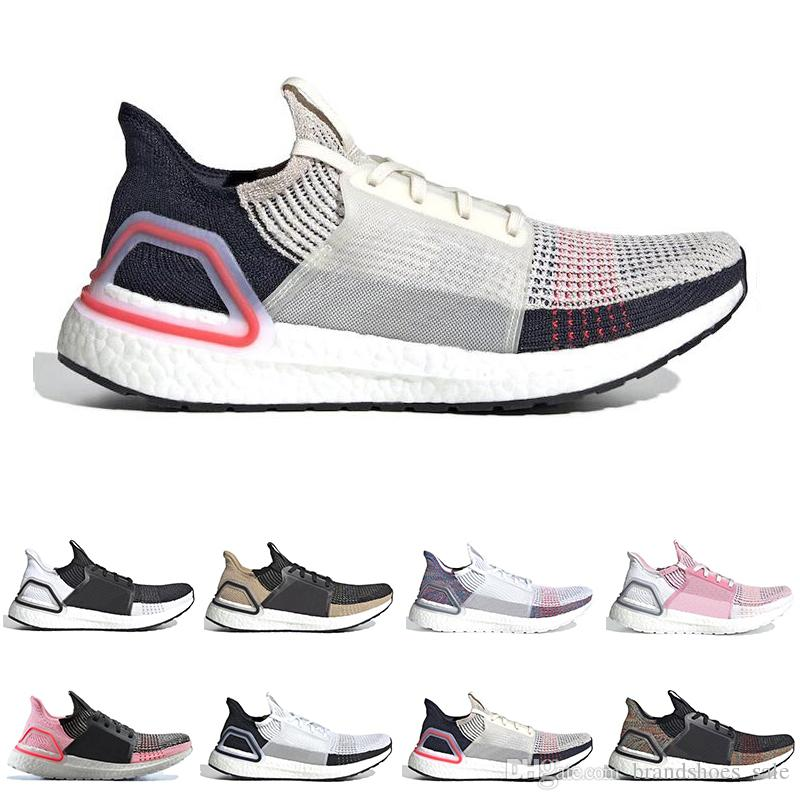 buy online 1ba6e 34e58 Fashion Ultra Boost Ultraboost 19 Running Shoes For Men Women Oreo REFRACT  True Pink Mens Trainer Breathable Sports Sneakers Best Running Shoes For  Flat ...