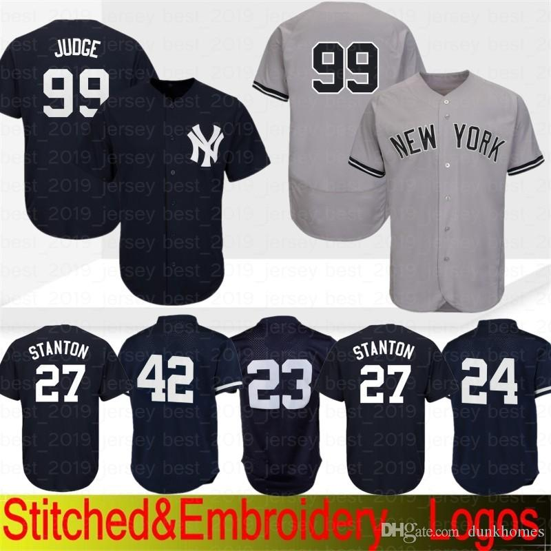 low priced bc059 6b987 New York Yankees Jersey 99 Aaron Judge 51 Bernie Williams 3 Babe Ruth 23  Don Mattingly 7 Mickey Mantle 42 Mariano Rivera Baseball Jerseys