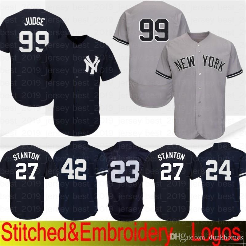 low priced 5ee24 75905 New York Yankees Jersey 99 Aaron Judge 51 Bernie Williams 3 Babe Ruth 23  Don Mattingly 7 Mickey Mantle 42 Mariano Rivera Baseball Jerseys
