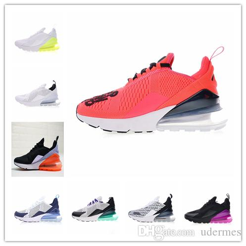 more photos 766dd 8e4fc 2019 news air men outdoor White and sky blue running shoes max 270 women  trainers sport sneakers