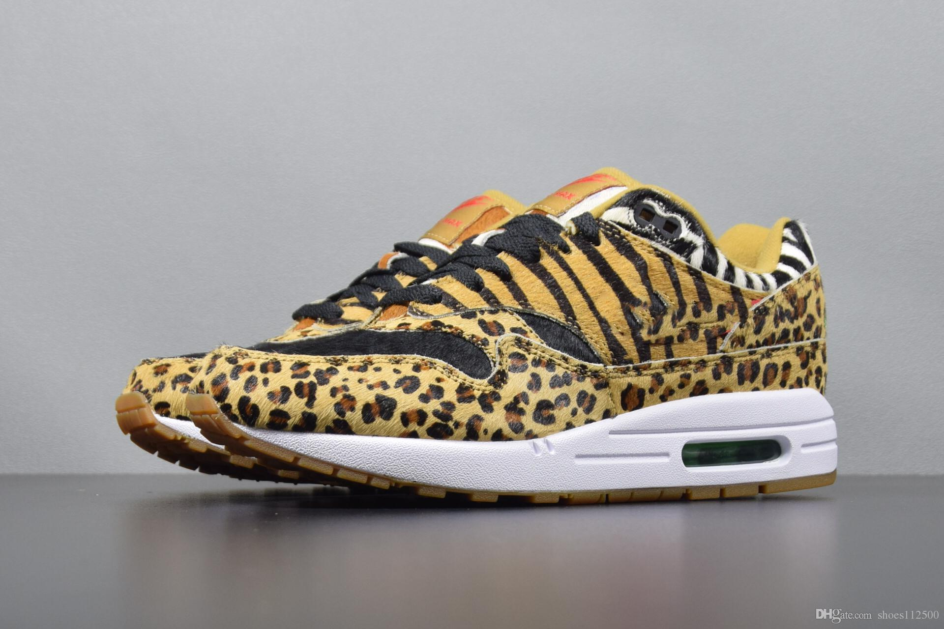 80285f3a45f2 2019 high quality new 95 ATMOS ANIMAL leopard PACK men's shoes limited  edition leopard sneakers men's designer running shoes (with shoe box)