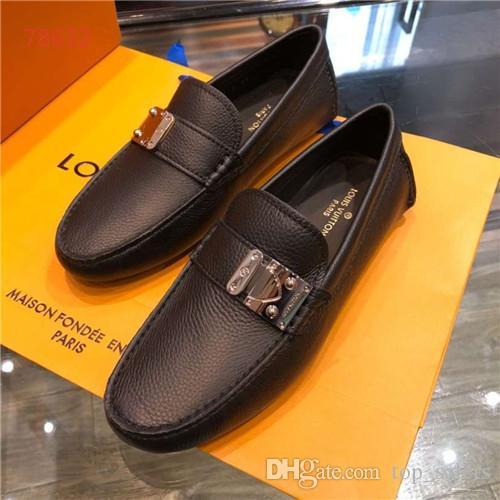 af964d461b2 Compre Sapatilhas Dos Homens De Luxo Sapatos Baixos Marca De Moda De ...