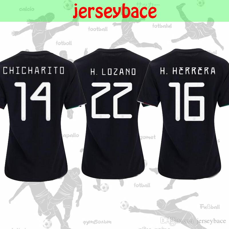 969834b3 19/20 Women SOCCER JERSEY Mexico Home Away Gold Cup CHICHARITO ...