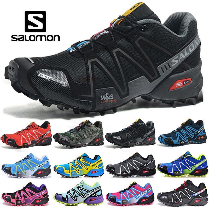 0c52a6b123 2019 Salomon Speedcross 3 CS Zapatillas De Running Hombres Mujeres ...