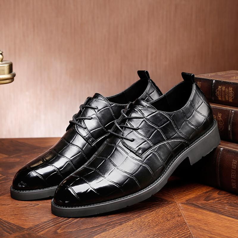Men S Casual Shoe Oxfords Office Lace Up Mens Shoes Casual Mens