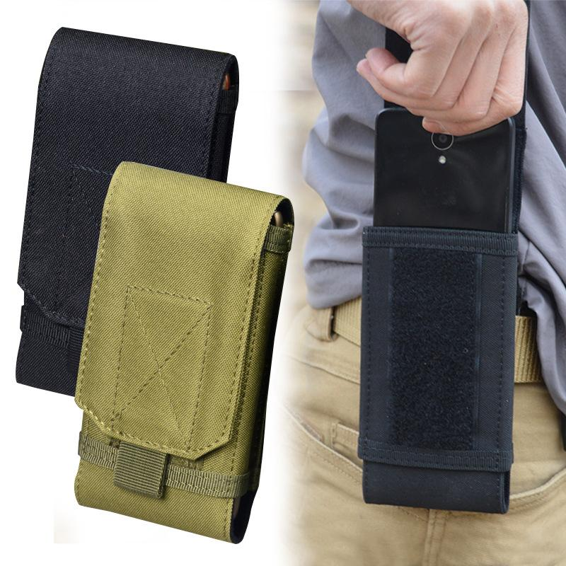 Outdoor Camouflage Bag Tactical Army Phone Holder Sport Waist Belt Case Waterproof Nylon EDC Sport Hunting Camo Bags in Backpack