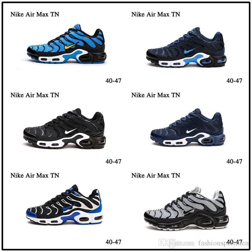 [Con reloj deportivo] Designer shoes men women Nike AIR MAX Hornet Tn Plus Negro Metálico Oro Volt Zapatos de diseñador de hombre esmeralda Rainbow