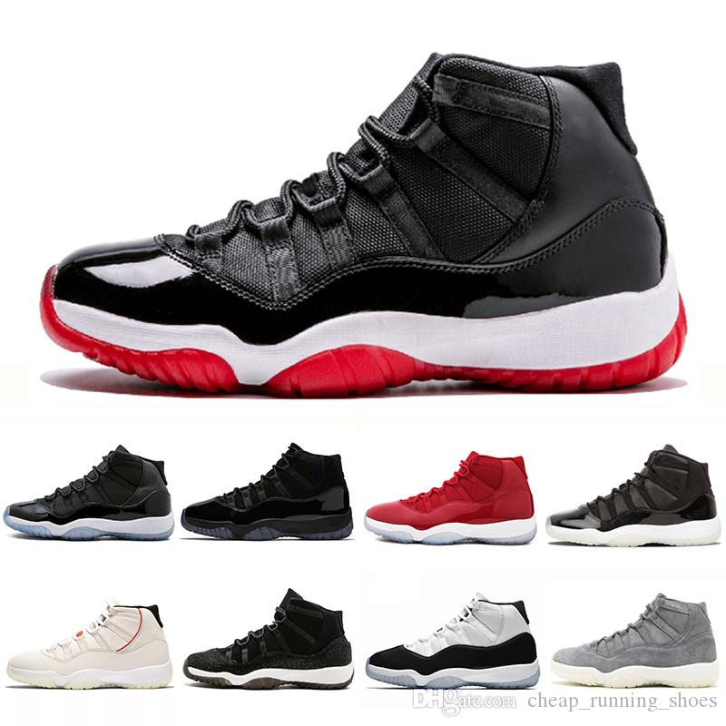 timeless design 39180 a2515 2019 Bred 11 Concord High 45 XI 11s Cap And Gown Men Basketball Shoes PRM  Heiress Space Jams Women Mens Sports Sneakers 36 47 Shoes Jordans Sneakers  On Sale ...