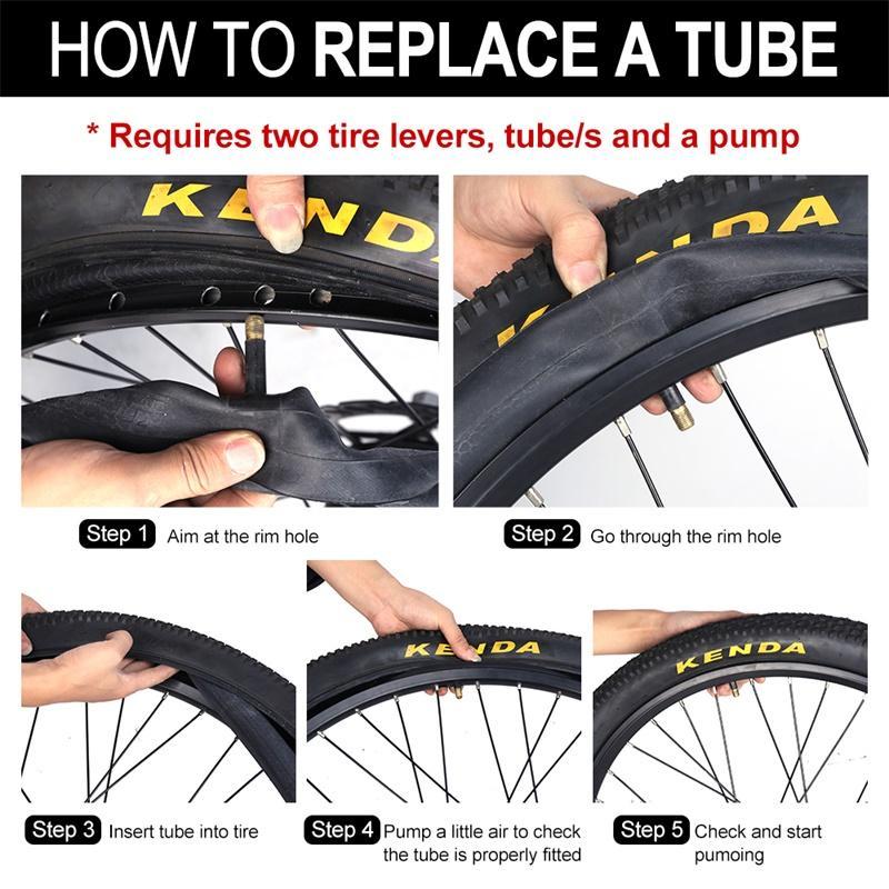 Kenda Bike Tire Butyl Rubber Bicycle inner tube 26'' 27.5'' Presta /Schrader Valve Tube For Mountain bicycle Road bike