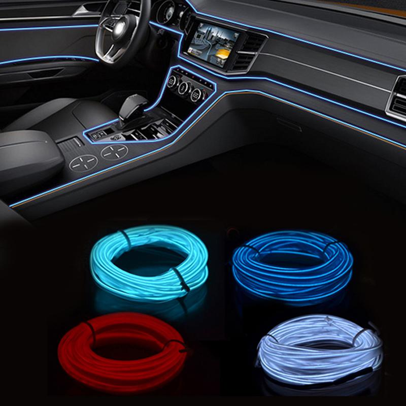 Outstanding 12V El Wire Car Neon Led Light Decoration Strip Colors Led Lamp Wiring Digital Resources Funapmognl