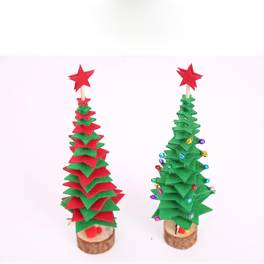 Decorazioni Natalizie Per Albero Di Natale Fai Da Te.Decorazioni Natalizie Fai Da Te Mini Albero Di Natale Per Bambini Regali Creativi Per La Casa Decorazioni Per La Casa