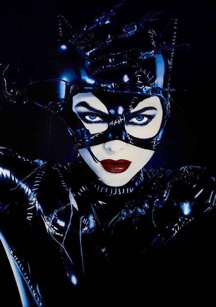 BATMAN RETURNS Movie Film 1992 Catwoman Michelle Pfeiffer Art Silk Print Poster 24x36inch(60x90cm) 009