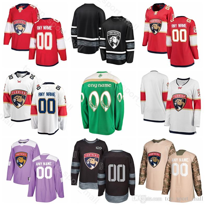 2019 Florida Panthers Ice Hockey 1 Roberto Luongo Jersey 68 Jaromir