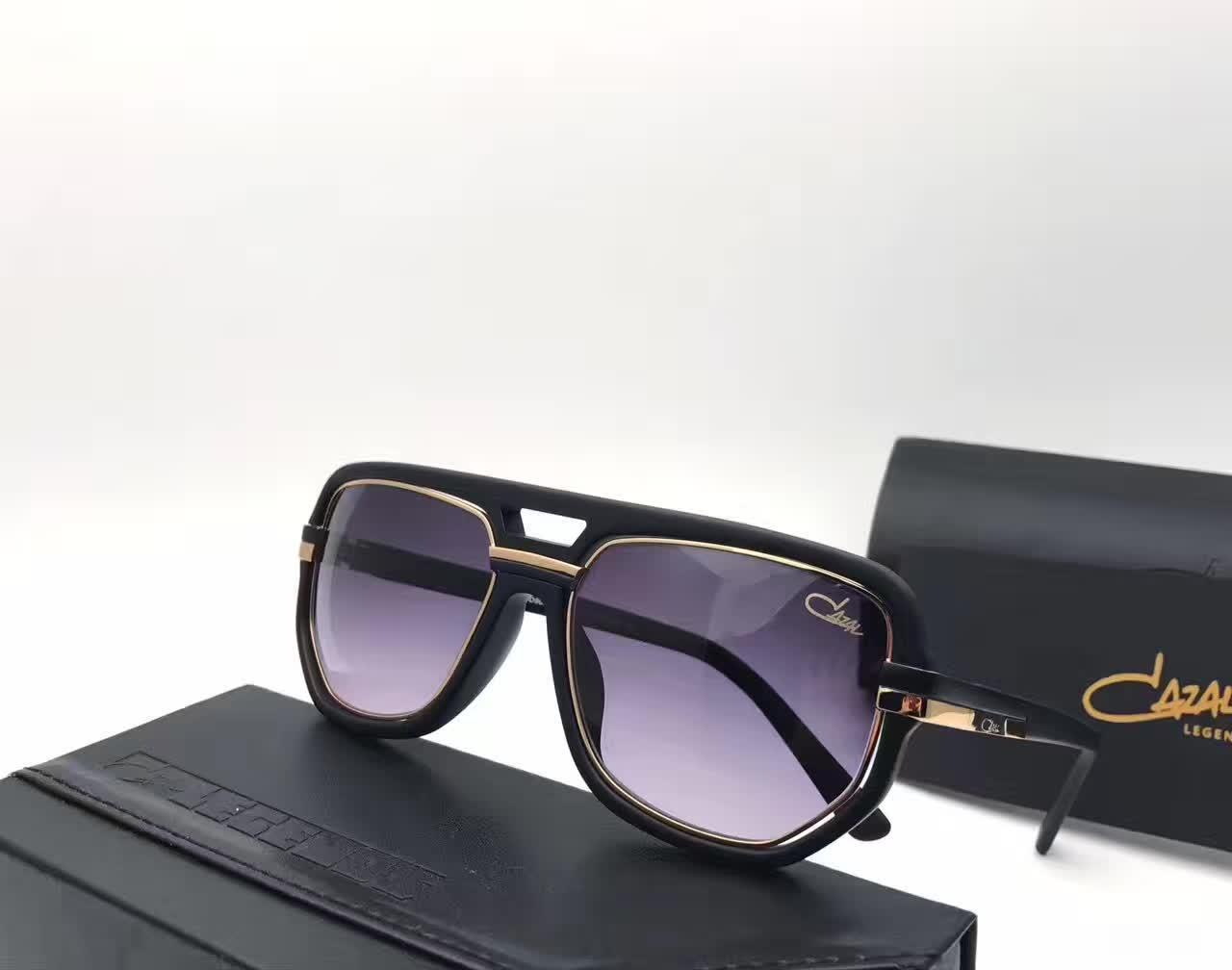 657ecc8121 Compre Lujo Hombres Gafas De Sol Negras Grises Leyendas Vintage Designer  Brand Gafas De Sol Gafas De Sol Feminino Nuevas Con Estuche A $83.51 Del  Gounian ...