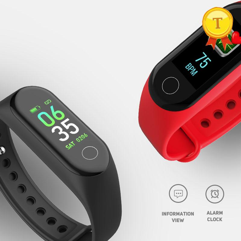 Android Cardíaco Para A Inteligente Presión De Ritmo Ios Impermeable Tracker Moda Monitor Arterial Pulsera Pantalla Ifitness Banda Color PiTkXuwZlO