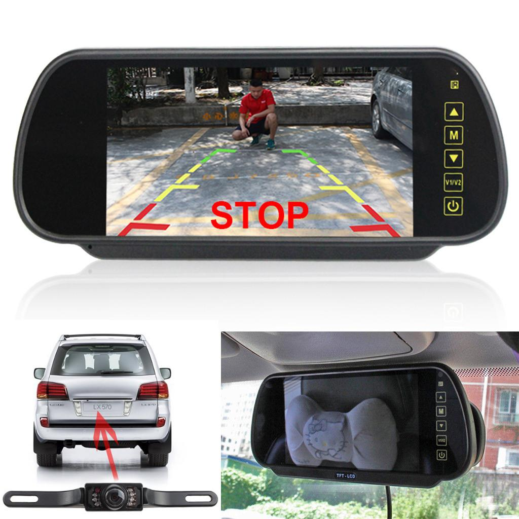 Car License Plate Rear View Reverse Backup Hd Camera Ir Night Vision Waterproof Consumers First Mouldings & Trim Vehicle Electronics & Gps