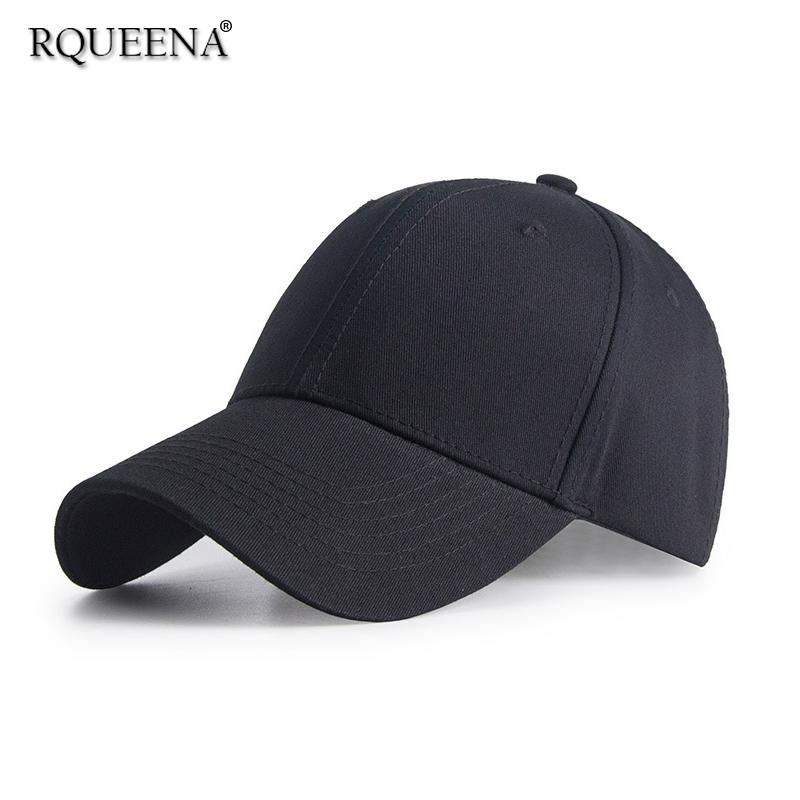 Rqueena Korean Women S Hats Black Blue White Baseball Cap Woman Fashionable  Summer Baseball Caps Female Hats For Women BC001 Leather Hats The Game Hats  From ... bc052aaf4b