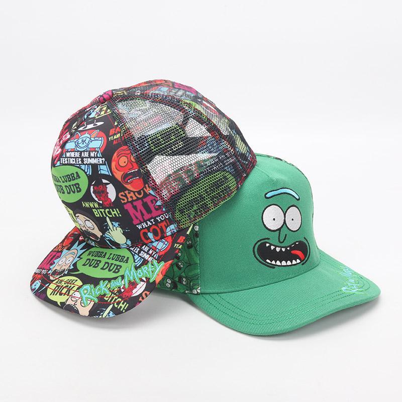 225b38b102a24 2019 Crazy Fashion Summer Rick And Morty Cap For Mens Baseball Caps Mr.  Meeseeks Rick Morty Hats Snapback Black Khaki Hat Plush Toys From Lakeball