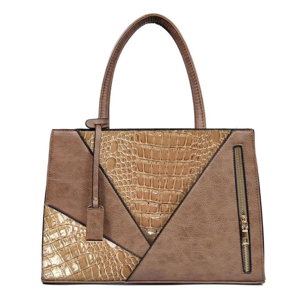 2b86c13d56 Women Serpentine PU Leather Handbag Female Luxury Over Shoulder Bag ...