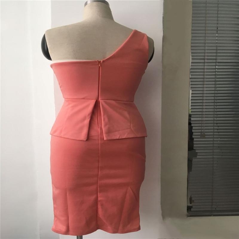 moda bayan kolsuz katı kalem elbise kadın ince BODYCON karıştırdı parti kokteyl elbise clubwear zarif kadın şık elbise