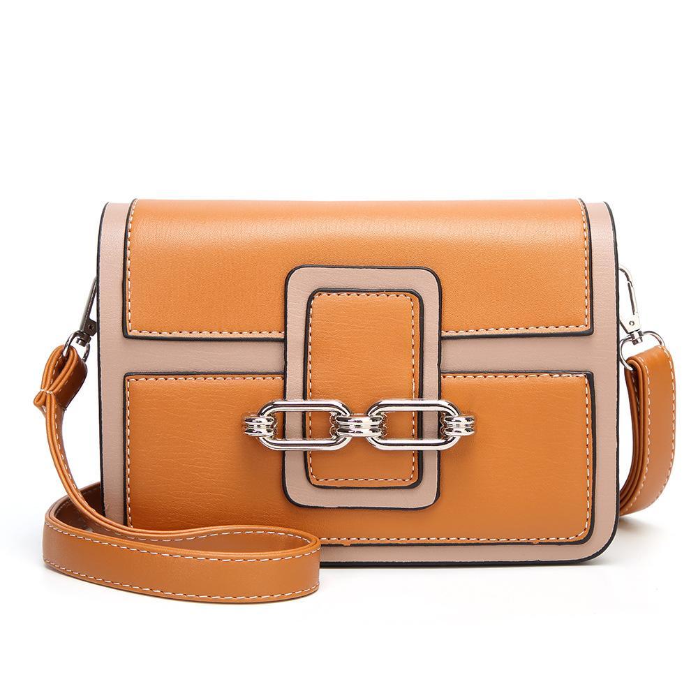 f0b3ee0b171e W M Vintage Wo Tone Small Shoulder Bag For Women Messenger Bags Ladies Retro  PU Leather Handbag Purse Crossbody Bag Wholesale Purses White Handbags From  ...