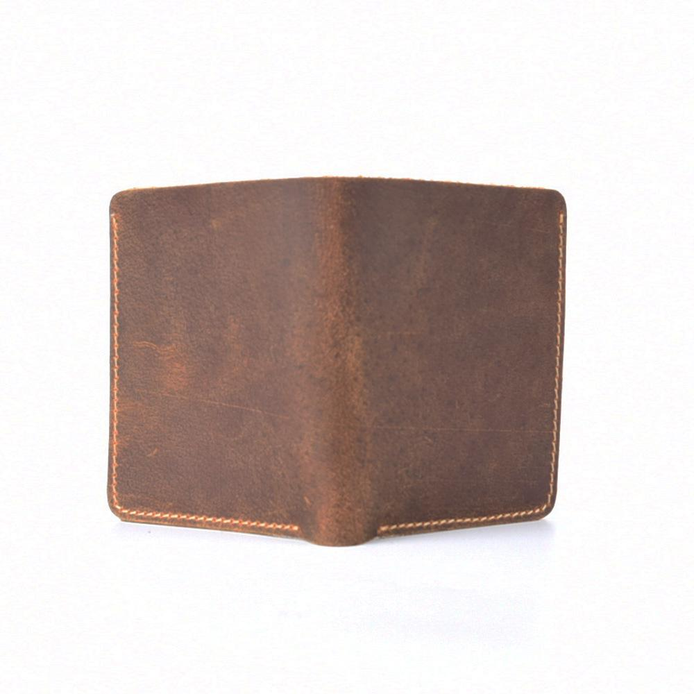 485417d77be6 Brief Style Genuine Leather Card Holder Wallet For Designer Pass Holder  Brown Short Case To Protect Italian Leather Wallets Womens Credit Card  Wallet From ...