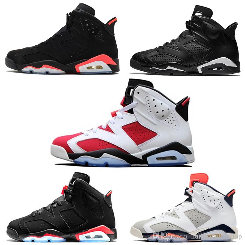 Compre Nike Air Jordan 6 2019 Nuevos Zapatos De Bebé 6s 13s Gatos Negros Niños Pequeños Niños Zapatos Al Aire Libre Para Bebés 6 13 Niños Y Niñas