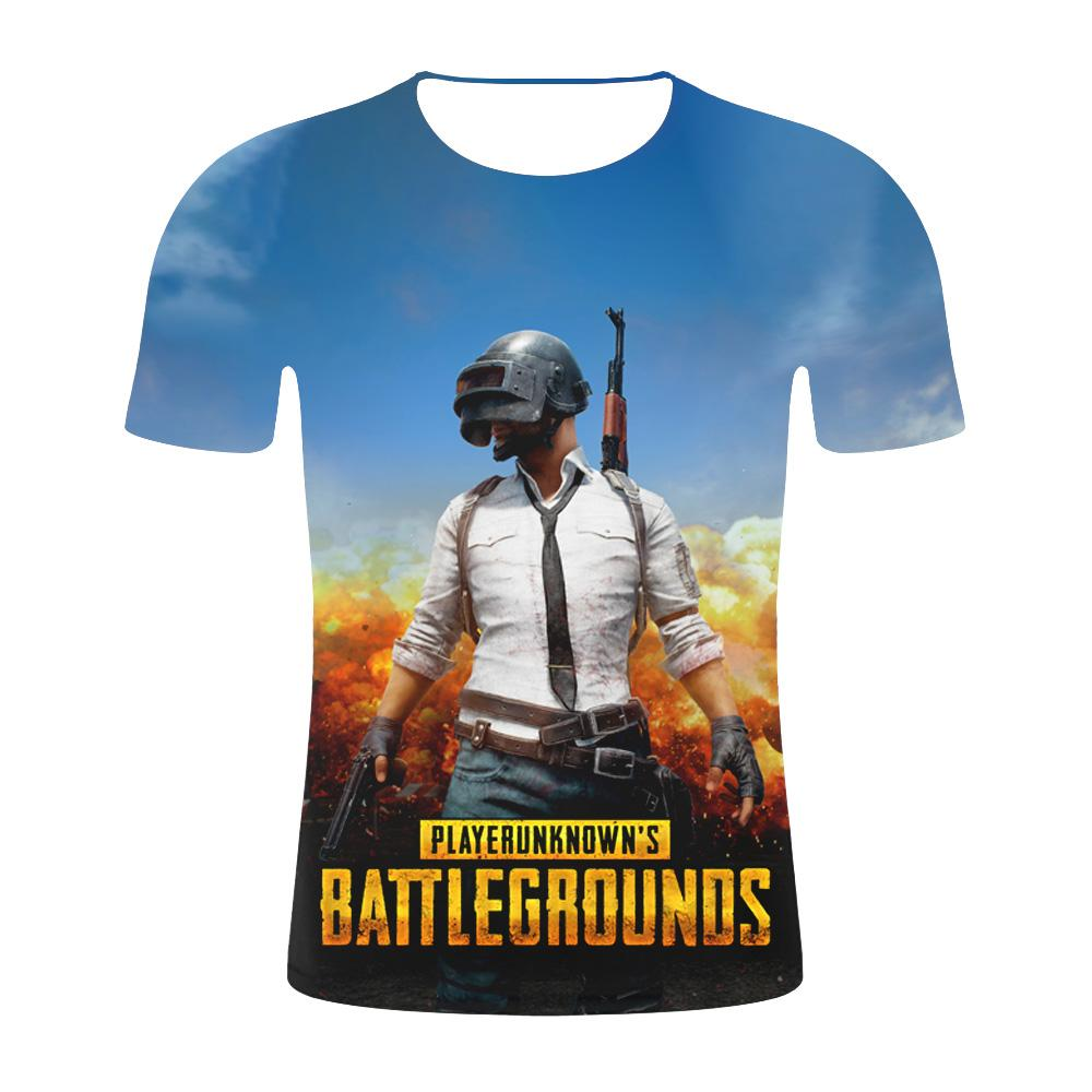 42536225 Hot Game PUBG 3D t shirt Men/women Aikooki Fashion Playerunknown's  Battlegrounds Men's t shirt PUBG 3D Print Plus Size Clothe